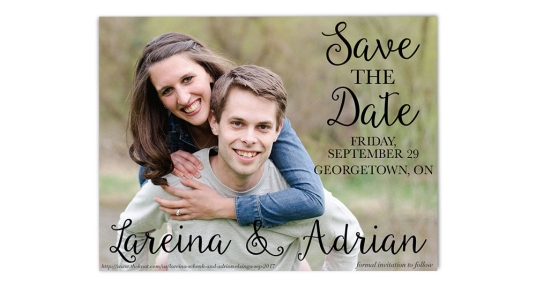Digital Save The Dates