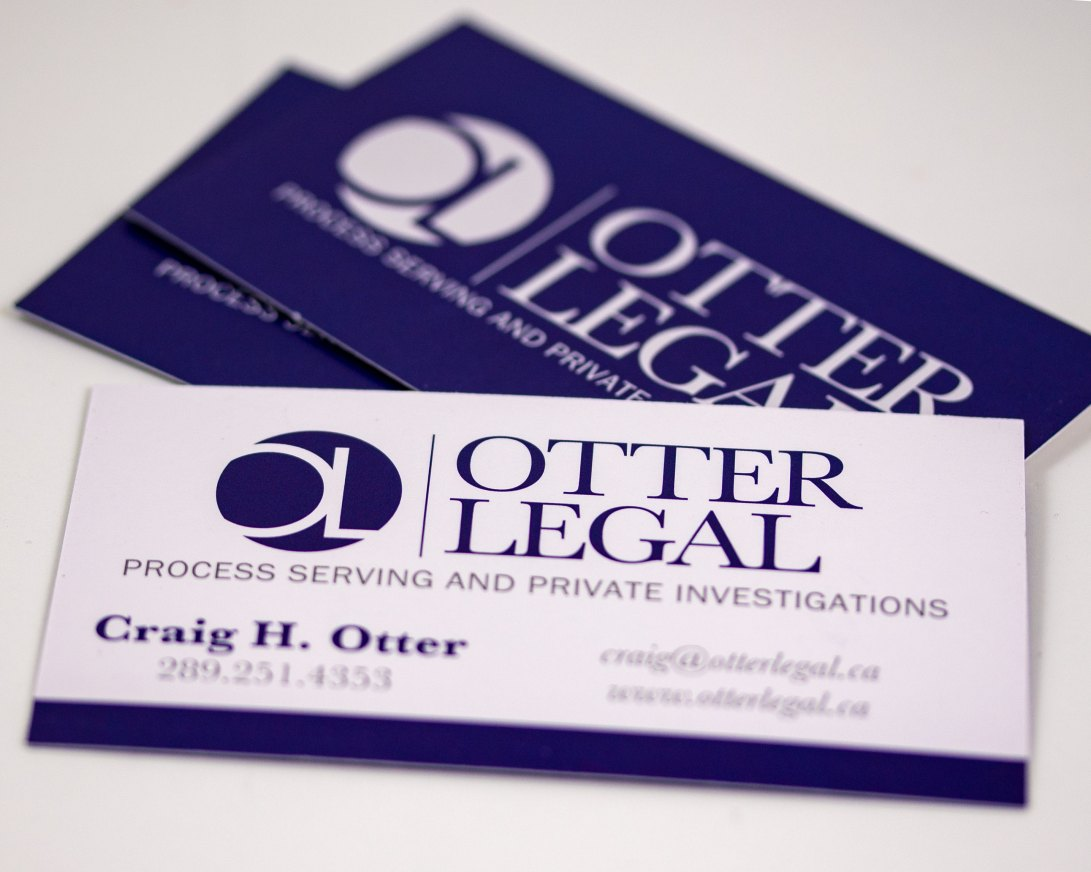 Otter Legal Business Cards